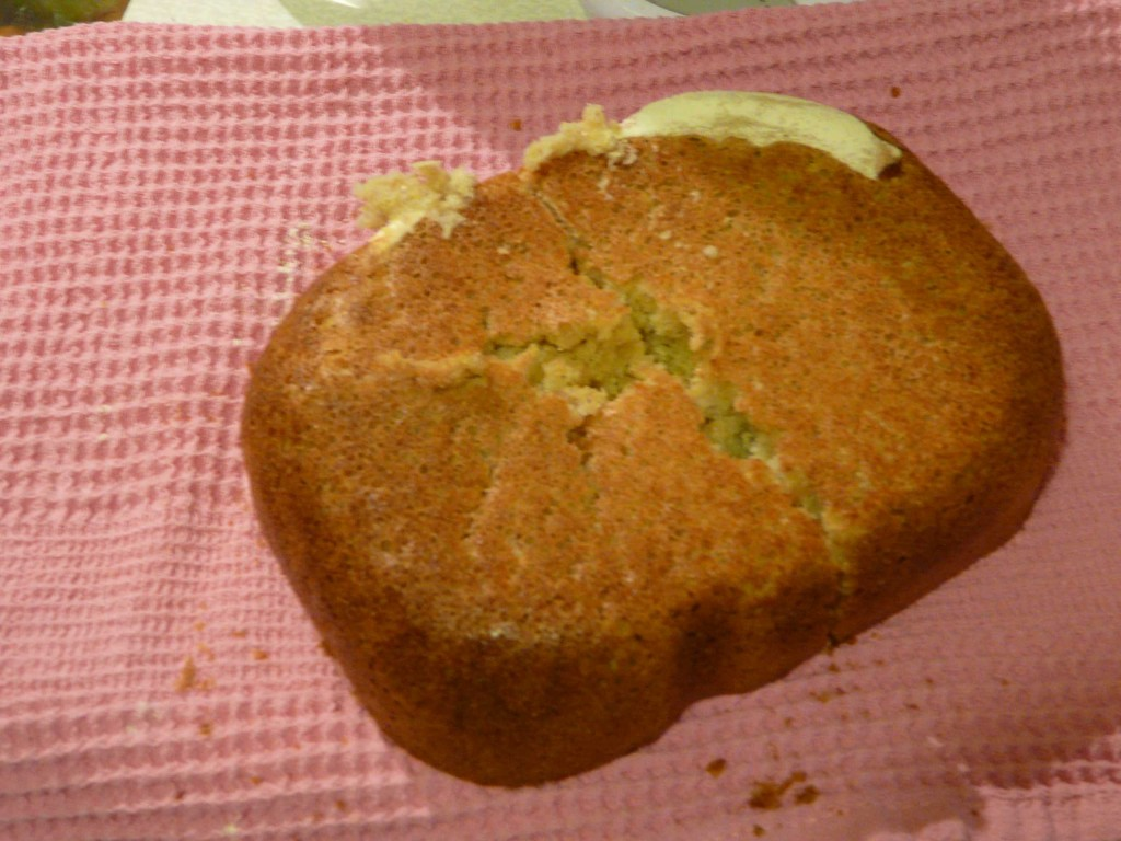 Непропекшийся хлеб