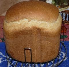 Рецепт вкусного белого хлеба в хлебопечке
