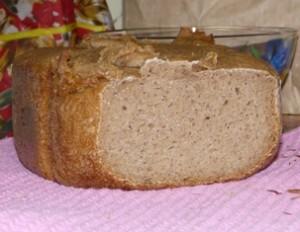 Хлеб без дрожжей в хлебопечке Панасоник