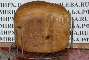 Ржаной хлеб на закваске в хлебопечке