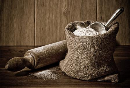 Темная мука для выпекания хлеба