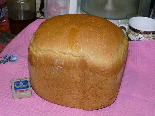 Рецепт пшеничного хлеба для хлебопечки