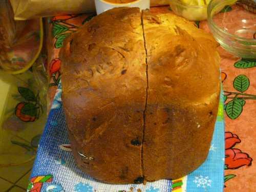 Сладкий хлеб рецепт