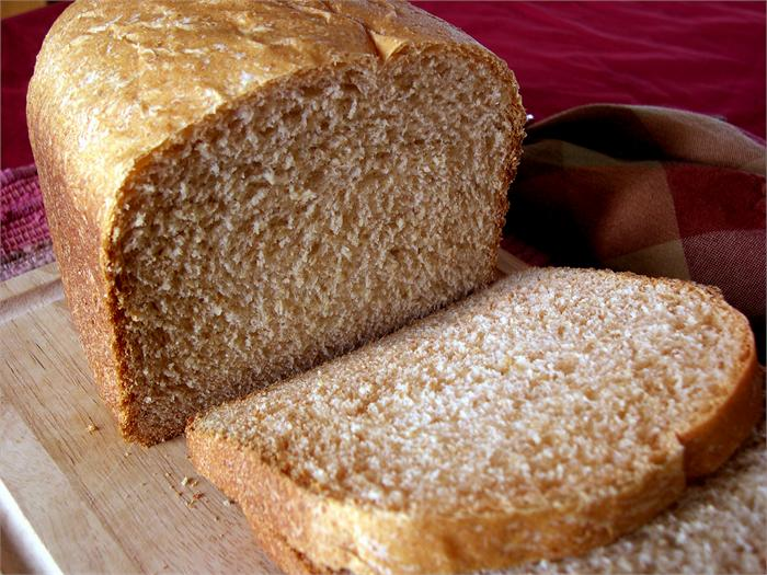 Пшенично-ржаной хлеб в хлебопечке